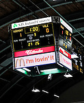 30 November 2009: The University of Vermont Catamounts lead the Yale University Bulldogs with one minute to play in a close game at Gutterson Fieldhouse in Burlington, Vermont. The Catamounts shut out the Bulldogs 1-0 in a rematch of last season's first round of the NCAA post-season playoff Tournament. Mandatory Credit: Ed Wolfstein Photo