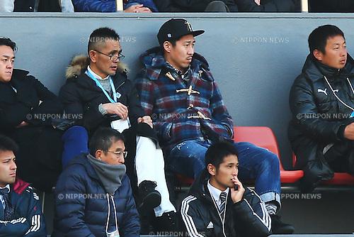 Yohei Toyoda, JANUARY 5, 2016 - Football / Soccer : 94th All Japan High School Soccer Tournament quarterfinal match between Seiryo 3-0 Meitoku Gijuku at Komazawa Olympic Park Stadium, Tokyo, Japan. (Photo by Shingo Ito/AFLO SPORT)