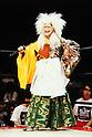 Akira Hokuto, SEPTEMBER 5, 1993 - Pro- Wrestling : Akira Hokuto is senn during the All Japan Women's Pro-Wrestling in Japan. (Photo by Yukio Hiraku/AFLO)