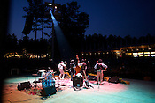 2012 Best Outdoor Music Venue: Koka Booth Amphitheatre, Cary (pictured: The Avett Brothers)