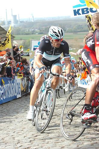 04.04.2011. Tour des Flanders Belgium.  Leopard - Trek 2011, Cancellara Fabian, Patersberg