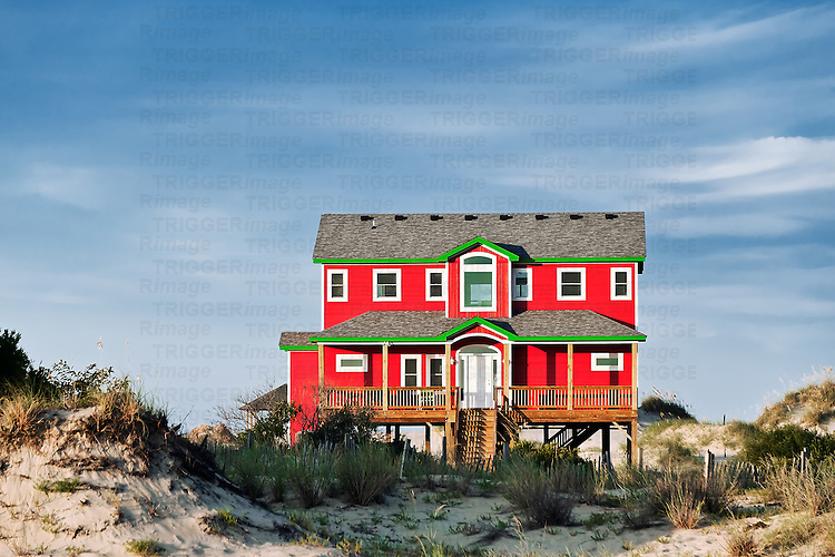 Waterfront Beach house, OBX, Outer Banks, North Carolina, USA
