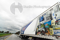 Americana Series: Road Trip<br /> <br /> PFG Foods Truck heading out of Chicago