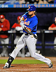 5 March 2012: New York Mets outfielder Kirk Nieuwenhuis in action during a Spring Training game against the Washington Nationals at Digital Domain Park in Port St. Lucie, Florida. The Nationals defeated the Mets 3-1 in Grapefruit League play. Mandatory Credit: Ed Wolfstein Photo