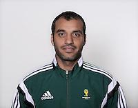 FUSSBALL Fototermin FIFA WM Schiedsrichter  09.04.2014 Nawaf SHUKRALLA (Bahrain)