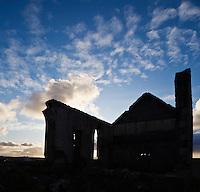 Church ruin, Kilmuir, Isle of Skye, Scotland