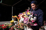 Flower lady, Adderley Street, Cape Town, South Africa