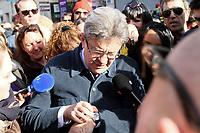 8 mars 2017 Deplacement a Marseille de Jean Luc Melenchon