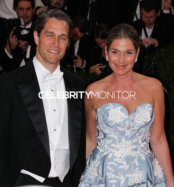 "NEW YORK CITY, NY, USA - MAY 05: Eric Zinterhofer, Aerin Lauder at the ""Charles James: Beyond Fashion"" Costume Institute Gala held at the Metropolitan Museum of Art on May 5, 2014 in New York City, New York, United States. (Photo by Xavier Collin/Celebrity Monitor)"