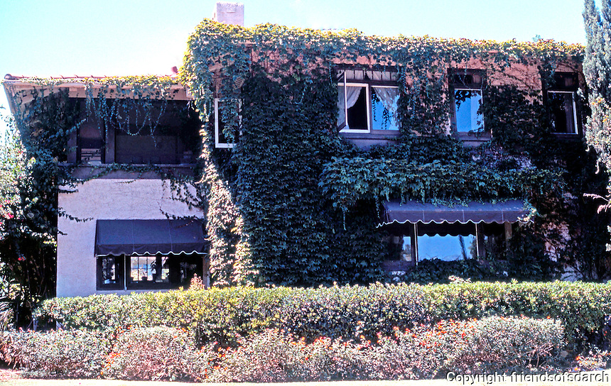 Irving Gill: Katherine Teats Cottage #1. 3560 7th Ave., San Diego. (Photo '78)