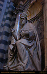 Monument to Alexander VII, Antonio Raggi 1663, Right Transept, Cathedral of Siena, Santa Maria Assunta, Siena, Italy