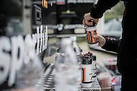 Team Trek-Segafredo preparing for the 2017 Strade Bianche recon (the day before the race)