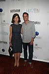 Gotham Magazine's Editor in Chief Catherine Sabino and Seth Meyers   at Gotham magazine's 'The Men's Issue' release party at The Sanctuary Hotel powered by CÎROC Vodka, NY