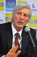 Jose Pekerman conferencia de prensa segunda etapa con Colombia 29-08-2014