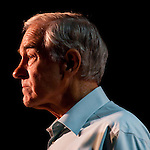 Republican presidential hopeful Ron Paul campaigns on Tuesday, August 2, 2011 in Davenport, IA.