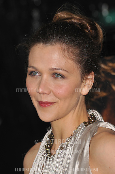 "Maggie Gyllenhaal at the Los Angeles premiere of her new movie ""Crazy Heart"" at the Academy of Motion Picture Arts & Sciences in Beverly Hills..December 8, 2009  Los Angeles, CA.Picture: Paul Smith / Featureflash"