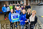 The late Pat Healy's daughter, Lilian and wife Lilie, with Barry John Keane and club members launch the Kerins O'Rahillys 10k event which takes place on Sunday, January 29