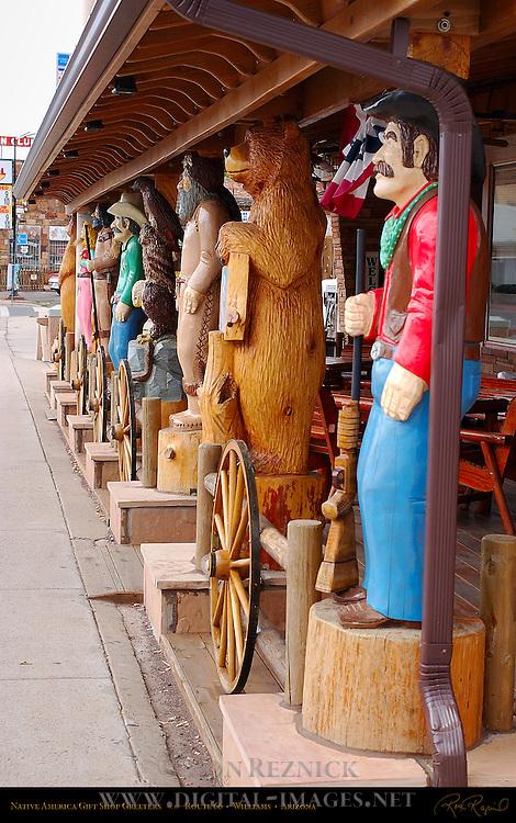 Gift Shop Greeters, Native America Gift Shop, Route 66, Williams, Arizona