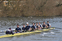 16 IM1.8+ Reading RC..Reading University Boat Club Head of the River 2012. Eights only. 4.6Km downstream on the Thames form Dreadnaught Reach and Pipers Island, Reading. Saturday 25 February 2012.