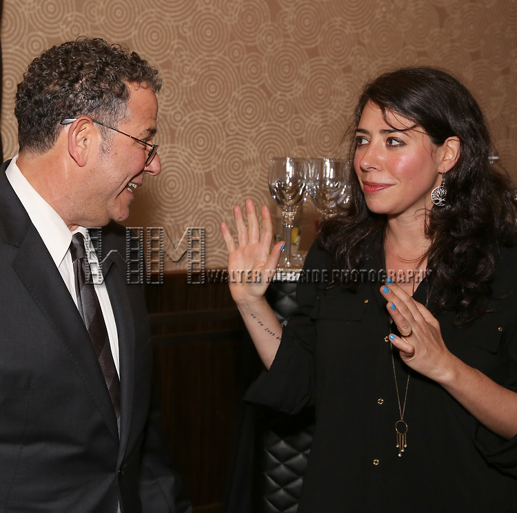Michael Greif and Rachel Chavkin attends New York Theatre Workshop's 2017 Spring Gala at the Edison Ballroom on May 15, 2017 in New York City.