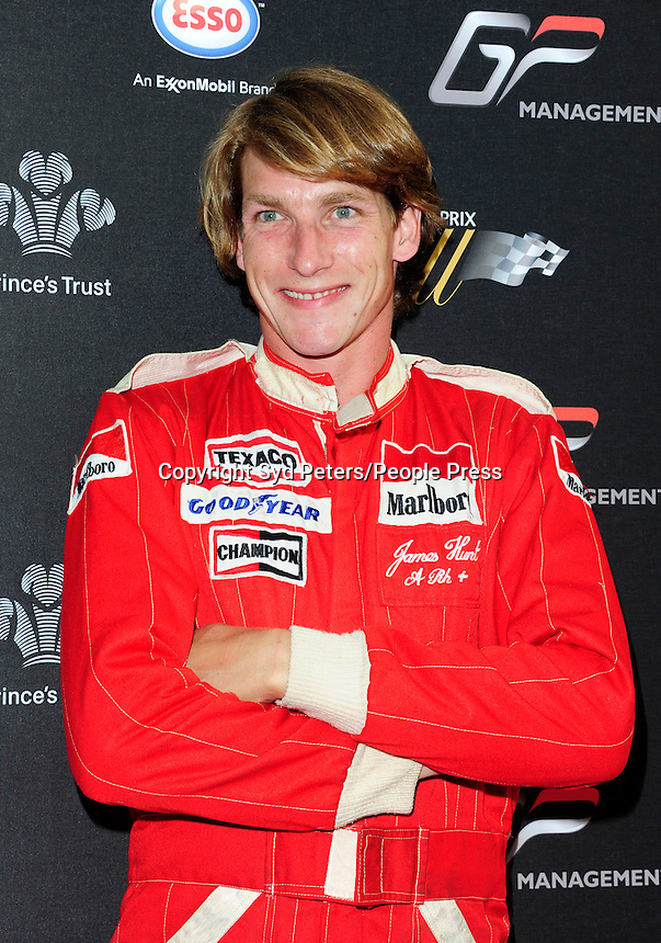 Freddle Hunt l attend the Grand Prix Ball at The Hurlingham Club In London