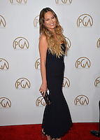 Chrissy Teigen at the 2017 Producers Guild Awards at The Beverly Hilton Hotel, Beverly Hills, USA 28th January  2017<br /> Picture: Paul Smith/Featureflash/SilverHub 0208 004 5359 sales@silverhubmedia.com