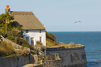 Runswick Bay - North Yorkshire - Captain Cooke house