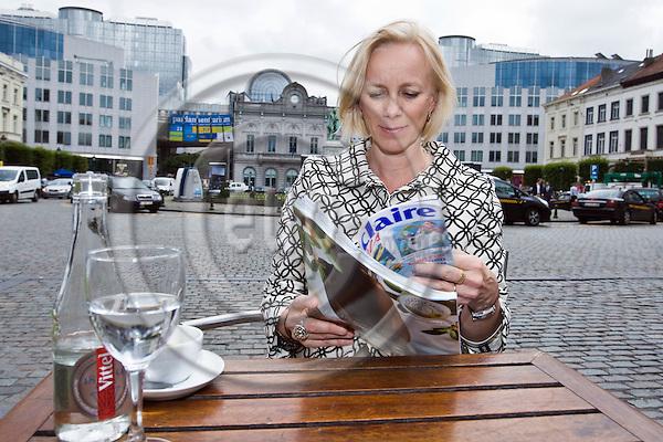 Anu nissinen ceo of sanoma media eup images for Sanoma magazines belgium