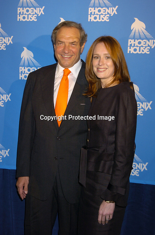 Dick Wolf and fiancee Noelle Lippman ..at the Phoenix House Benefit honoring Jeff Zucker with the Phoenix Rising Award on June 8, 2005 at The Waldorf Astoria . ..Photo by Robin Platzer, Twin Images