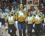 "Rebelettes dance at the C.M. ""Tad"" Smith Coliseum in Oxford, Miss. on Wednesday, February 9, 2011. Ole Miss won 66-60 and is now 4-5 in the Southeastern Conference."