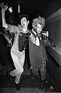 "England. August, 1981. Land Without a Hope. Punks at the Derby's night-club, Newcastle. A catastrophic economic situation with three million unemployed, probably four million next year, Great Britain is bowed beneath the weight of the crisis. Factories and even whole cities no longer exist on the conomic map. The young poeple, who are the chief victims of this situation, are sinking into a state of despair. Gangs are multiplying, and in the streets, in night-clubs, it is the reign of the brutal metalheads, the provocative punks, the violent skinheads...and the silly sweetness of the ""romantics""."