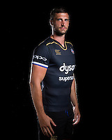 Luke Charteris poses for a portrait at a Bath Rugby photocall. Bath Rugby Media Day on August 24, 2016 at Farleigh House in Bath, England. Photo by: Rogan Thomson / JMP / Onside Images