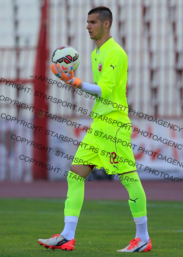 Fudbal-Friendly match-Prijateljski mec<br /> Crvena Zvezda V Mordovia Saransk<br /> goalkeeper Filip Manojlovic<br /> Beograd, 12.07.2015.<br /> foto: Srdjan Stevanovic/Starsportphoto&copy;
