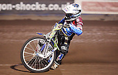 Justin Sedgmen of Lakeside Hammers - Lakeside Hammers Open Evening at the Arena Essex Raceway, Pufleet - 23/03/12 - MANDATORY CREDIT: Rob Newell/TGSPHOTO - Self billing applies where appropriate - 0845 094 6026 - contact@tgsphoto.co.uk - NO UNPAID USE..