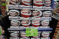 Barack Obama basketballs on sale at  Walgreens.