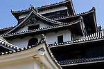Photo shows Matsue Castle in central Matsue City, Shimane Prefecture, Japan on 26 June 2011. The castle, which took 5 years to build and was completed in 1611, is the second largest of Japan's 12 remaining castles..Photographer: Robert Gilhooly