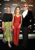 NEW YORK, NY-August 11: Catherine Martin, Baz Luhrmann Lillian Luhrmann at NETFLIX presents the New York premiere of The Get Down at Lehman Center for the Performing Arts in Bronx .NY. August 11, 2016. Credit:RW/MediaPunch