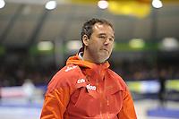 SCHAATSEN: HEERENVEEN: IJsstadion Thialf, 27-12-2014, NK Allround, Jan van Veen (trainer/coach Team Corendon), ©foto Martin de Jong