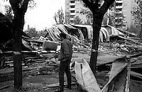 Roma 19  Maggio 1991.Attentato incendiario distrugge il  centro sociale Corto Circuito al quartiere Lamaro..Nel incendio muore il giovane diciannovenne Auro Bruni.