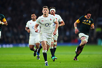 Owen Farrell of England. Old Mutual Wealth Series International match between England and South Africa on November 12, 2016 at Twickenham Stadium in London, England. Photo by: Patrick Khachfe / Onside Images