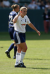 27 June 2004: Cat Reddick. The Philadelphia Charge defeated the San Jose CyberRays 2-0 at the Home Depot Center in Carson, CA in Womens United Soccer Association soccer game featuring guest players from other teams.