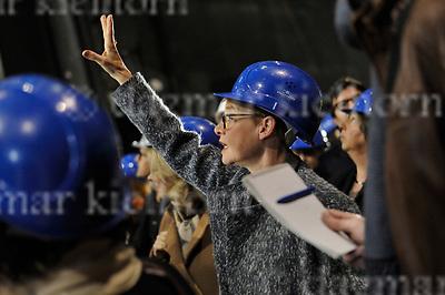 April 24-17,Staatsoper Unter den Linden,Berlin,Germany<br /> Staatsoper Unter den Linden reopens on 3rd october 2017<br /> Walk around the building ,presentation for media:Senatsbaudirektorin Regula Lüscher,