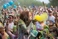 The Color Run, Seattle Stock Photos