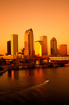 Florida, Tampa: City skyline.  Photo #: tampas102..Photo copyright Lee Foster, www.fostertravel.com, 510/549-2202, lee@fostertravel.com