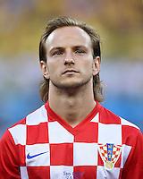 FUSSBALL WM 2014  VORRUNDE    Gruppe A    12.06.2014 Brasilien - Kroatien Ivan Rakitic (Kroatien)