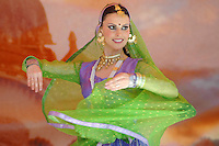 Shriji Rasalila performs an Indian Classical dance during  the 28 th Annual  Festival of Chariots in Venice on Sunday Aug.1, 2004