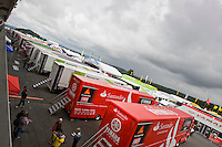 Difficult weather for this first day of free practice. Rain and cold weather doesn't help Teams to find good setups for the motorbikes, Friday, June 13, 2008, in Nürburgring, Eifel, Germany. (Valentin Bianchi/pressphotointl.com)