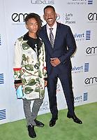 BURBANK, CA. October 22, 2016: Jaden Smith &amp; Will Smith at the 26th Annual Environmental Media Awards at Warner Bros. Studios, Burbank.<br /> Picture: Paul Smith/Featureflash/SilverHub 0208 004 5359/ 07711 972644 Editors@silverhubmedia.com