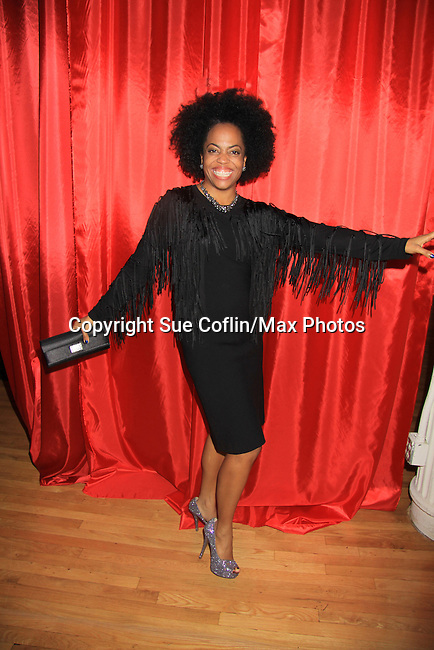 """Another World's Rhonda Ross (event co-host) at Hearts of Gold's 16th Annual Fall Fundraising Gala & Fashion Show """"Come to the Cabaret"""", a benefit gala for Hearts of Gold on November 16, 2012 at the Metropolitan Pavilion, New York City, New York.   (Photo by Sue Coflin/Max Photos)"""