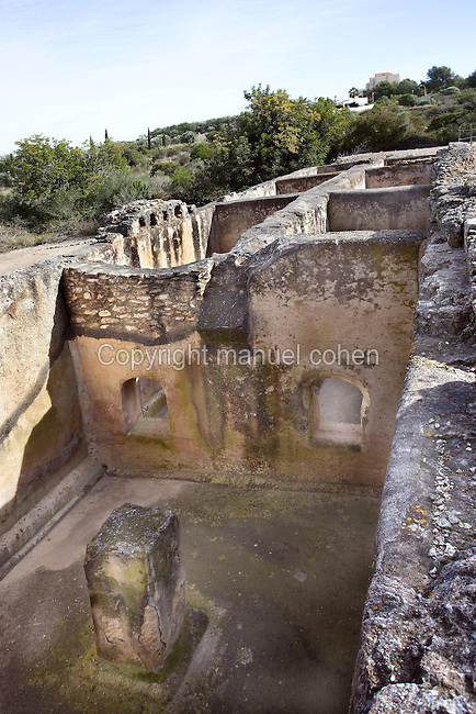 The Cistern; Villa of El Munts; I Century AD, Tarragona (Tarraco, Hispania Citerior), Catalonia, Spain; one of the largest built on a hill overlooking the coast, only 12 km from Tarragona (Tarraco).